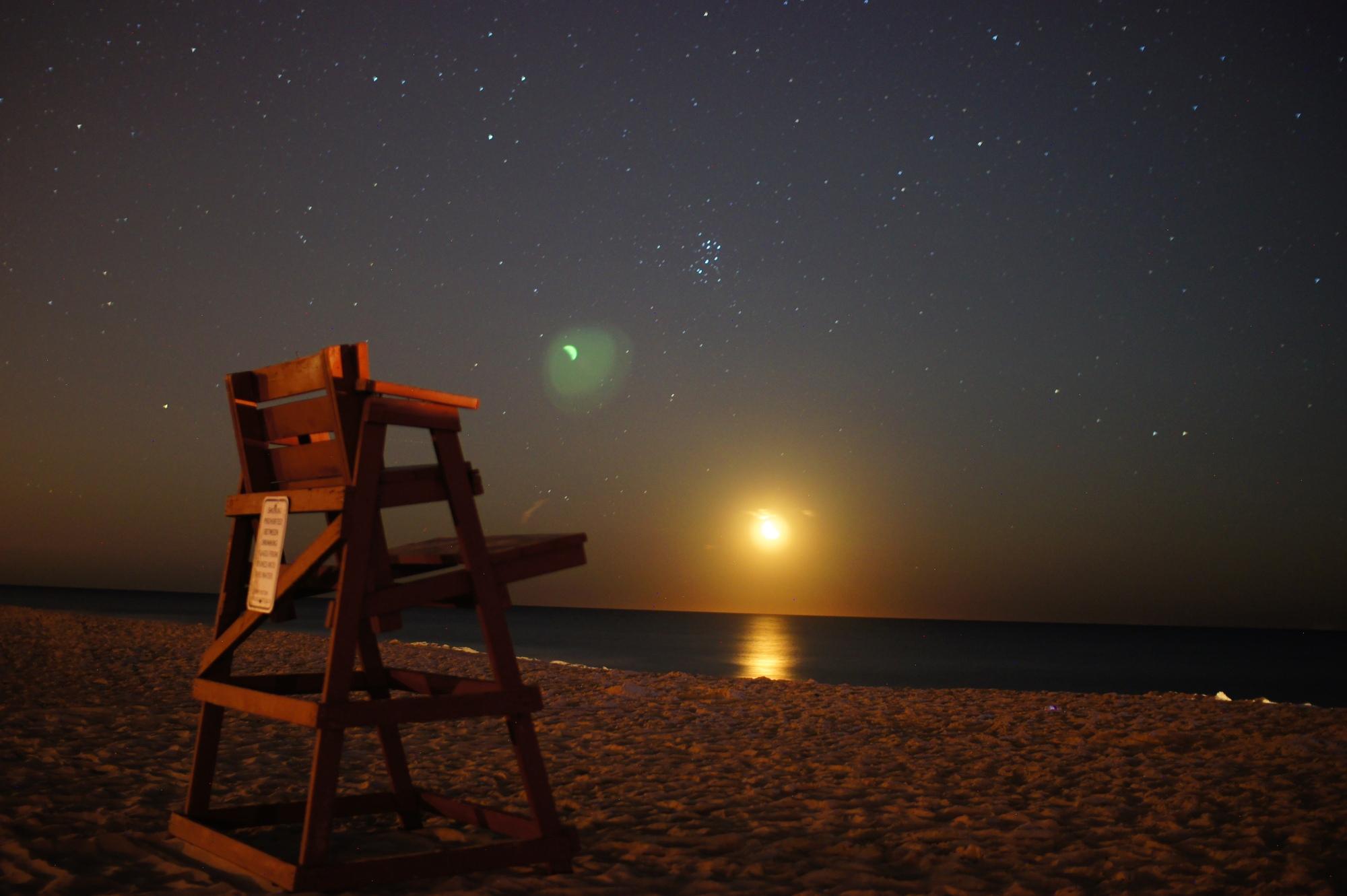Long beach island lifeguard chair