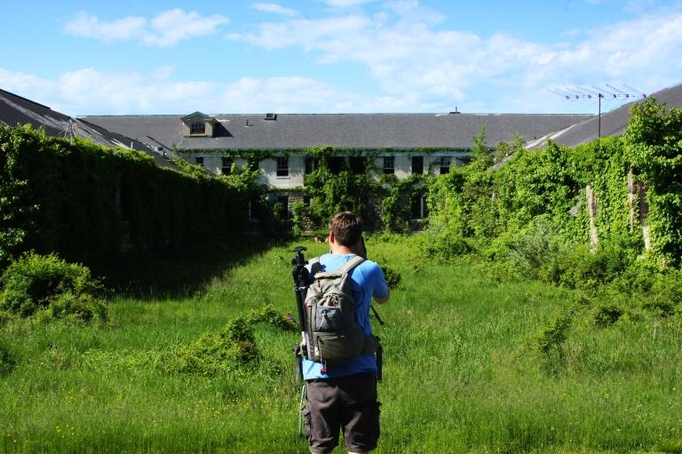 Shooting photos at Letchworth Village