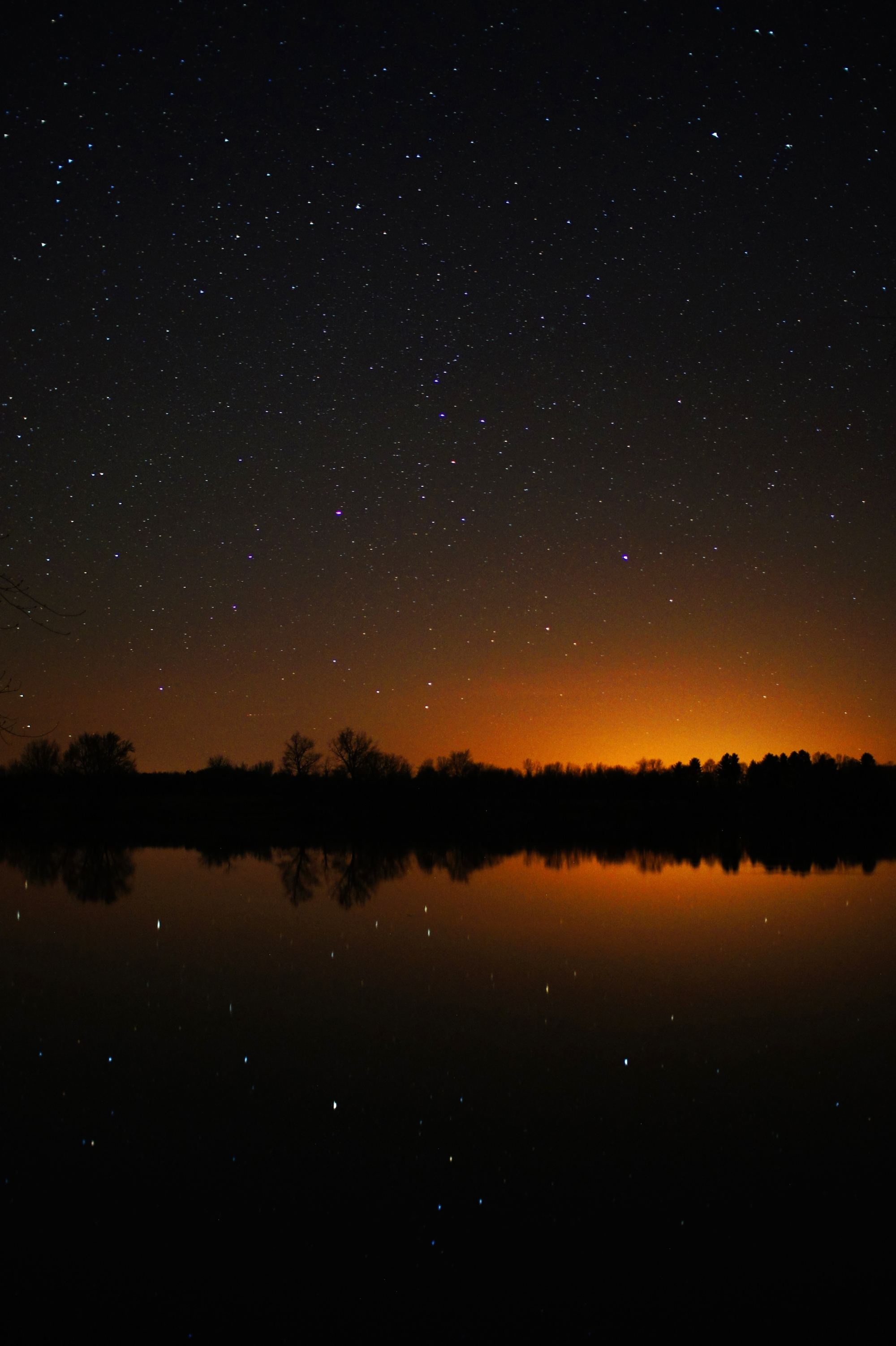 star reflections